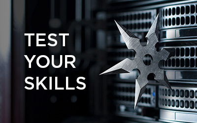 Test your skills icon