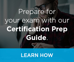 Prepare for your exam with our Certification Prep Guide.