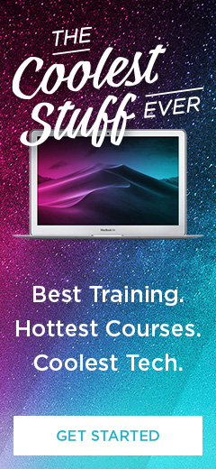 The Coolest Stuff Ever: Best Training. Hottest Courses. Coolest Tech.