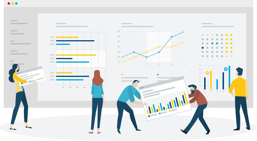 2019 professional development job satisfaction illustration
