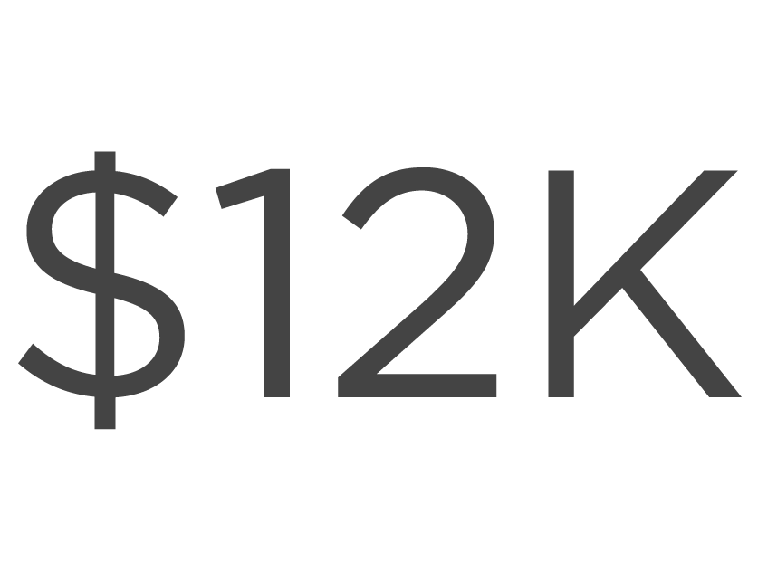 12 thousand dollars image icon